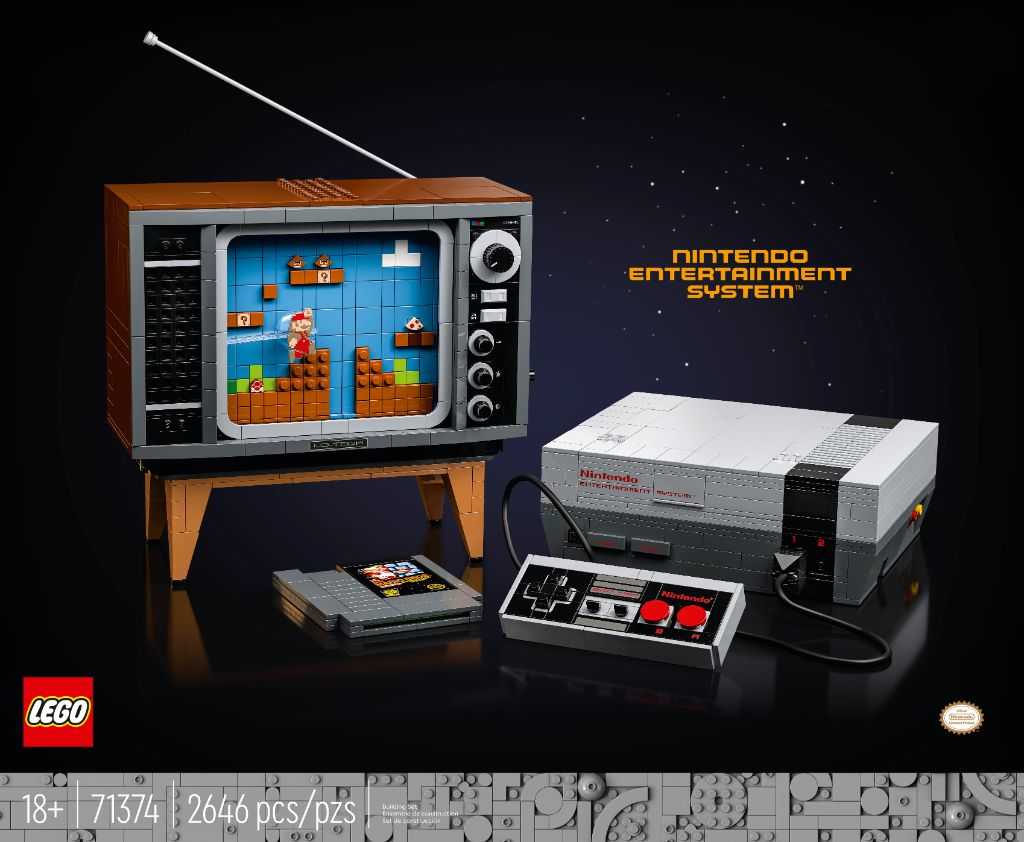LEGO 71374 Nintendo Entertainment System NES 15