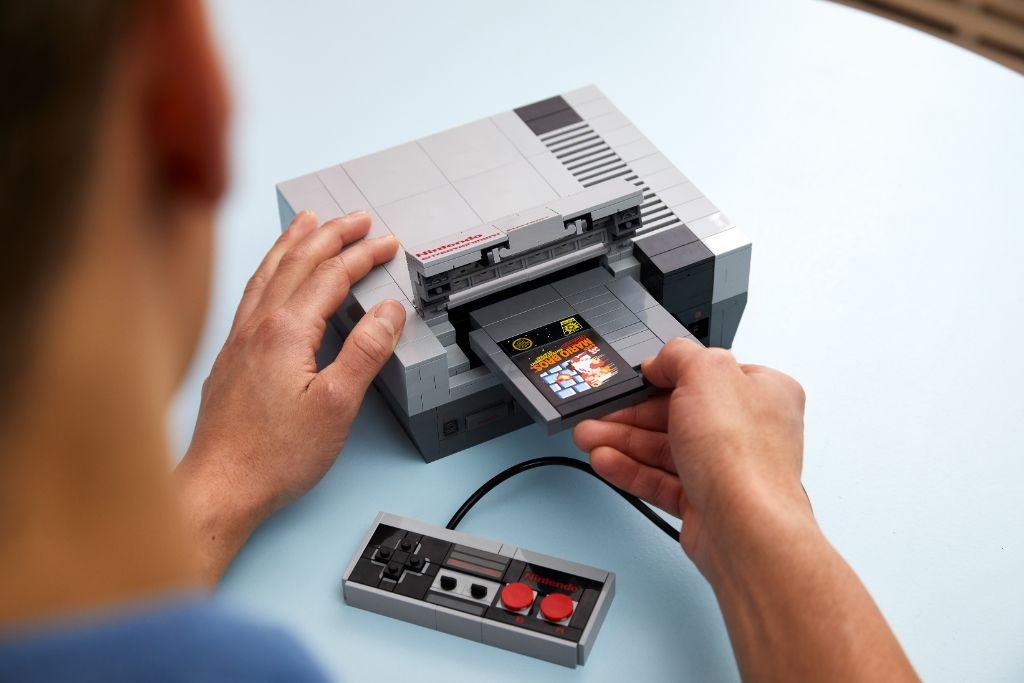 LEGO 71374 Nintendo Entertainment System NES 24