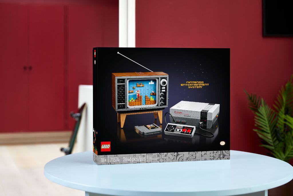 LEGO 71374 Nintendo Entertainment System NES 26