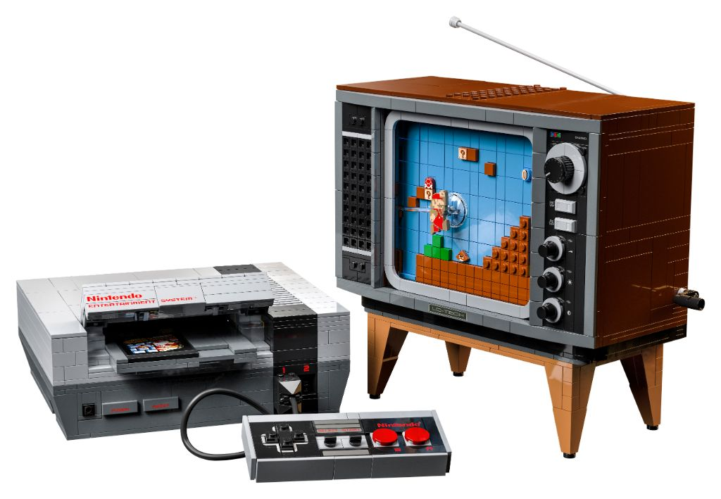 LEGO 71374 Nintendo Entertainment System NES 5