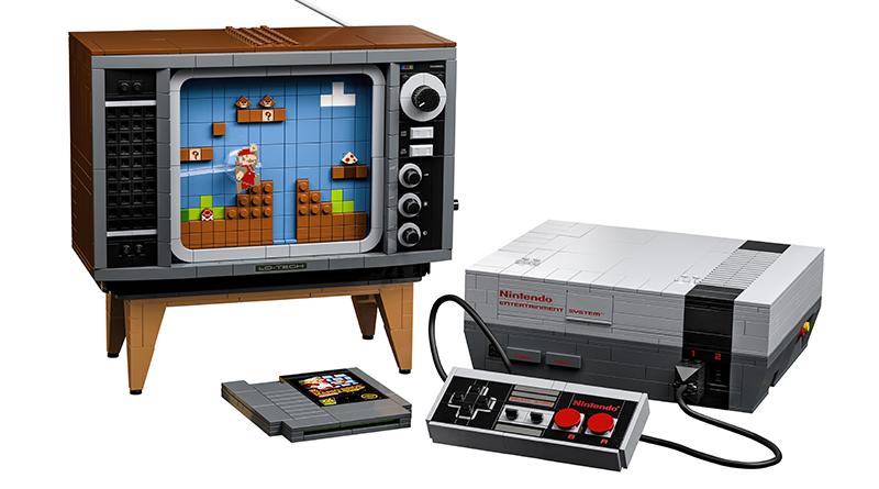 LEGO 71374 Nintendo Entertainment System Featured 1