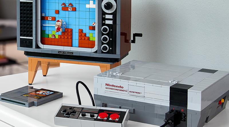 LEGO 71374 Nintendo Entertainment System Featured 3