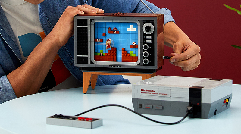 LEGO 71374 Nintendo Entertainment System Featured 4