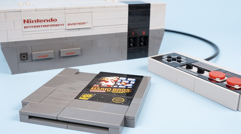 LEGO 71374 Nintendo Entertainment System Featured