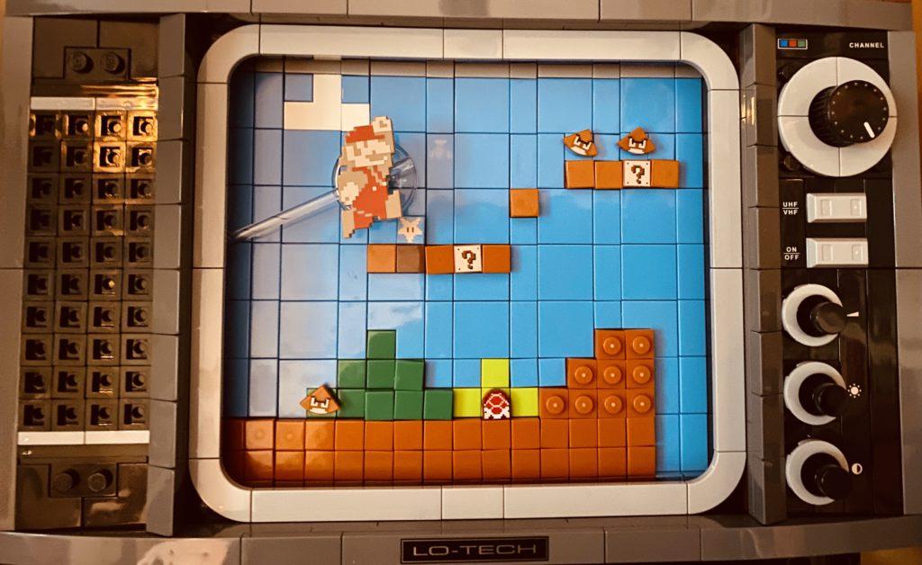 LEGO 71374 Nintendo Entertainment System Screen