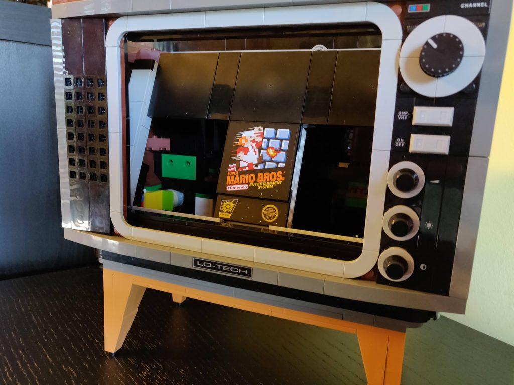 LEGO 71374 Nintendo Entertainmeny System switch stand 2