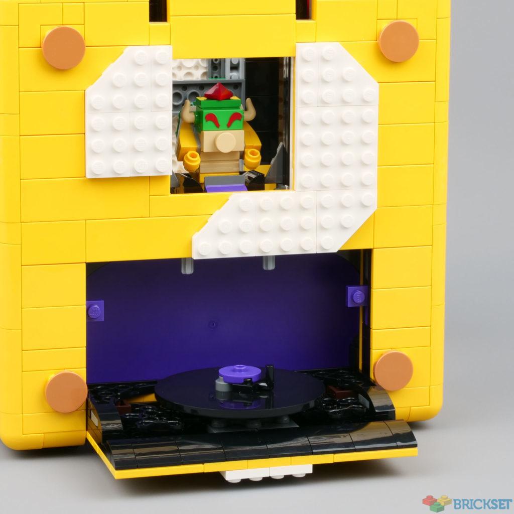 LEGO 71395 Super Mario 64 კითხვის ნიშანი დაბლოკეთ ფარული დონე 1