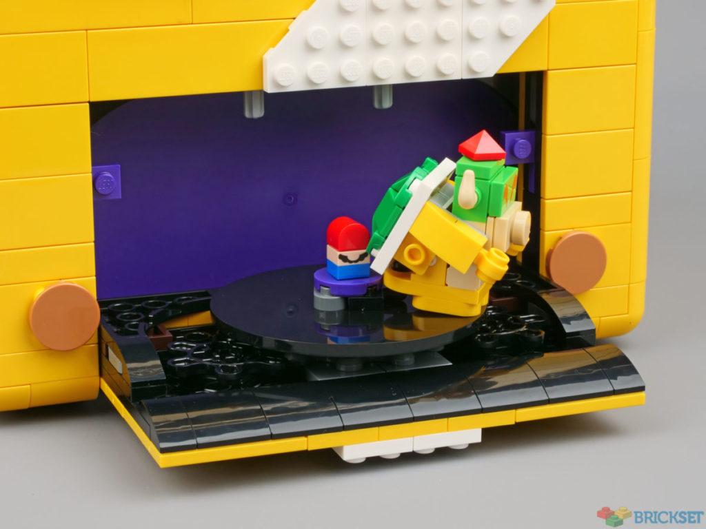 LEGO 71395 Super Mario 64 კითხვის ნიშანი დაბლოკეთ ფარული დონე 2