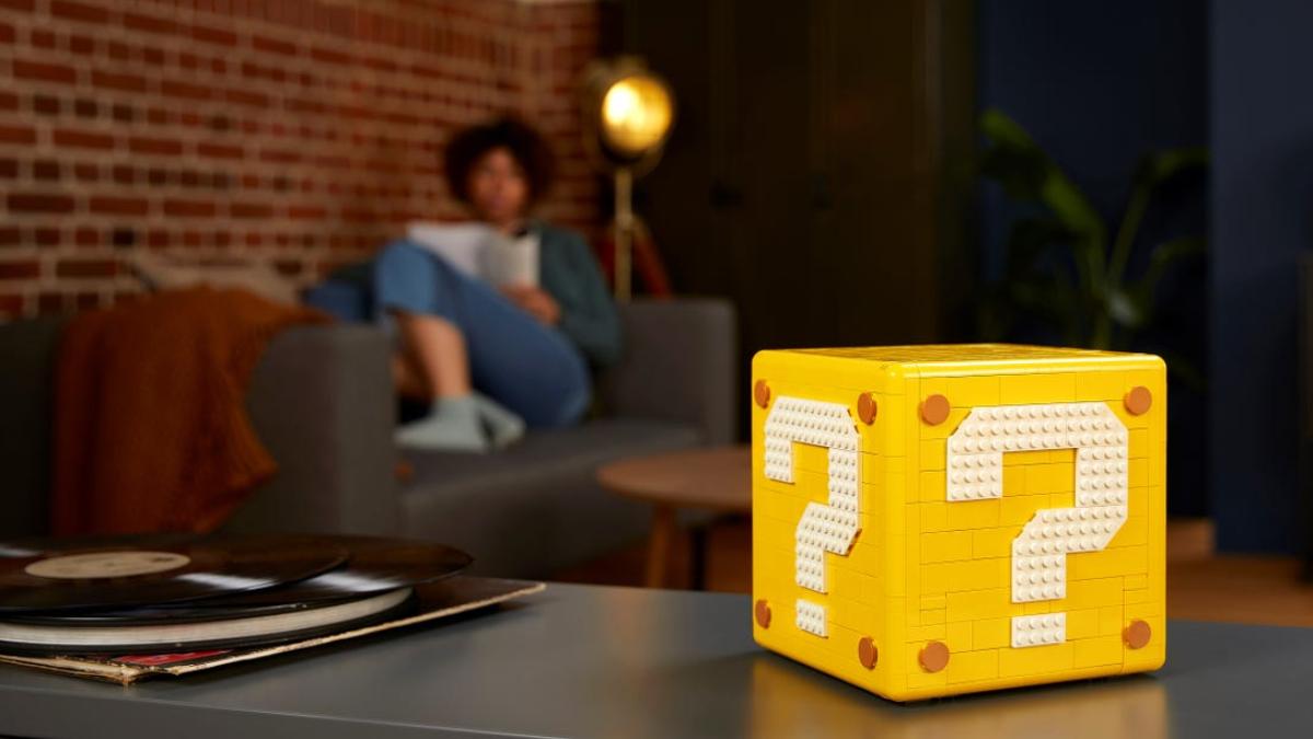 LEGO 71395 Super Mario 64 Question Mark Block Lifestyle No Levels Featured