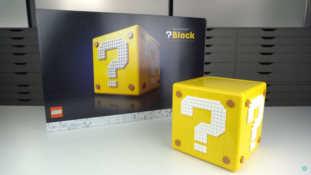 LEGO 71395 Super Mario 64 Question Mark Block Review Featured