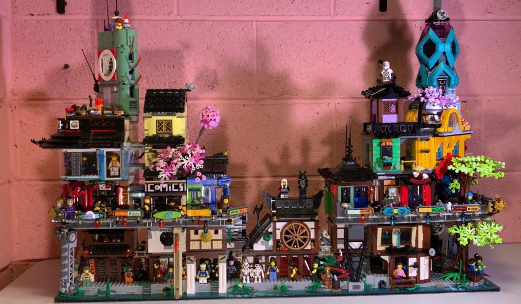 LEGO 71741 NINJAGO City Gardens Connected 70620 Front
