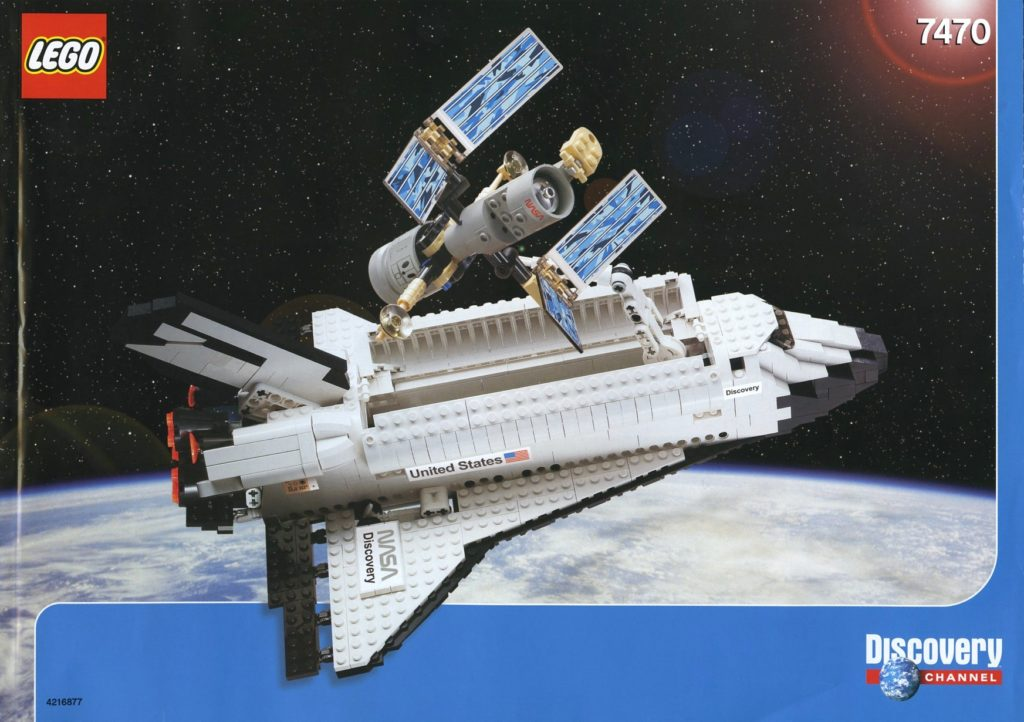 LEGO 7470 Space Shuttle Discovery