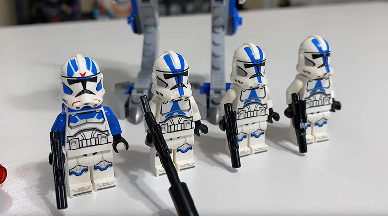 LEGO 75280 Star Wars 501st CLone Troopers Video Featured 800x445