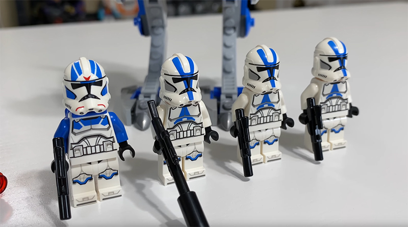 LEGO 75280 Star Wars 501st CLone Troopers Video Featured