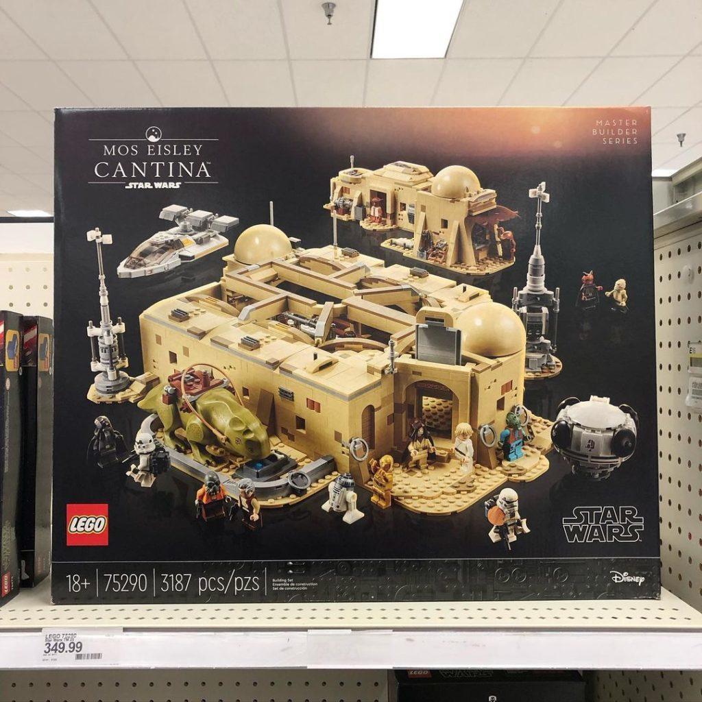 LEGO 75290 Mos eisley cantina target
