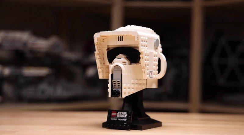 LEGO 75305 Scout Trooper Helmet first look