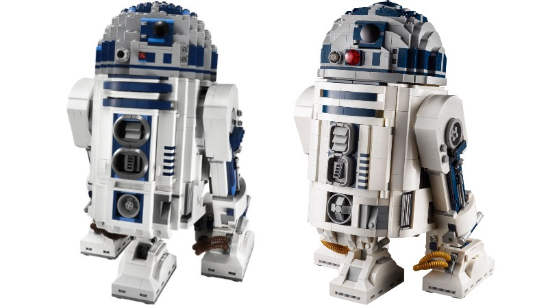 LEGO 75308 R2 D2 Comparison Featured