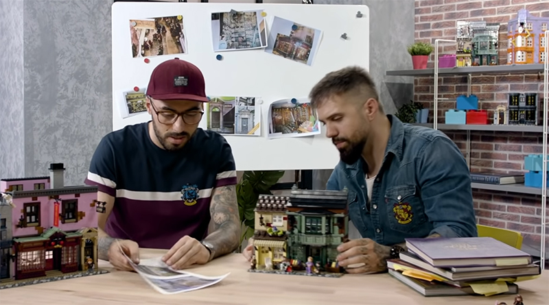 LEGO 75978 Diagon ALley Designers Featured
