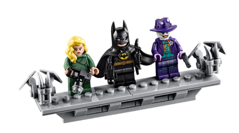 LEGO 76139 1989 Batmobile Minifigures featured