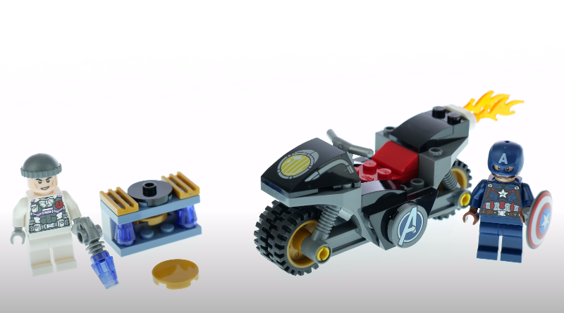 LEGO 76189 Captain America And Hydra Face Off First Look