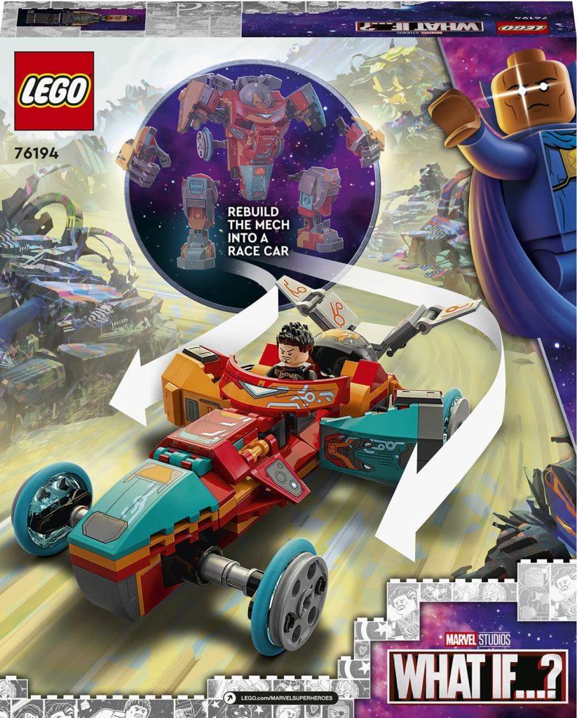 LEGO 76194 Tony Starks Sakaarian Iron Man