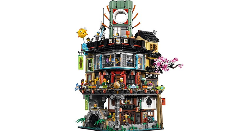 LEGO 7620 NINJAGO City Featured