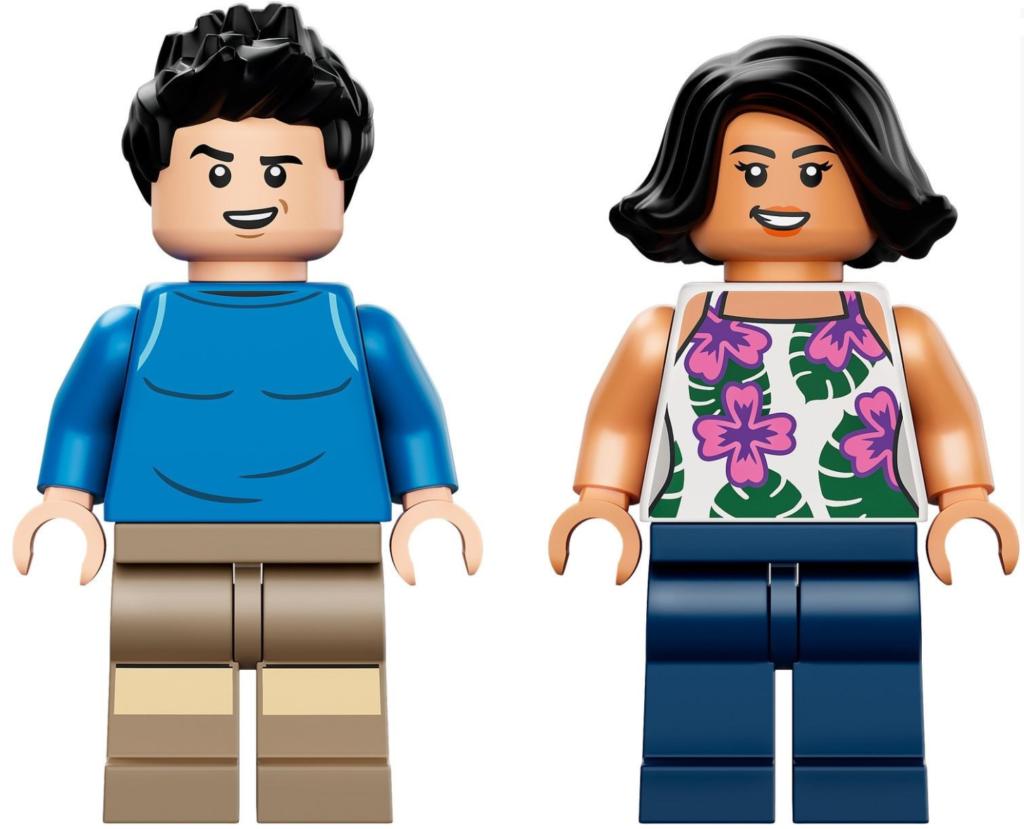 LEGO 76941 minifigures