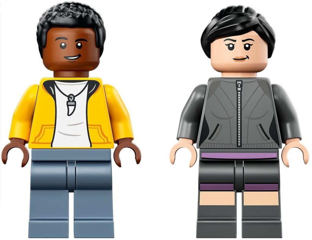 LEGO 76942 minifigures