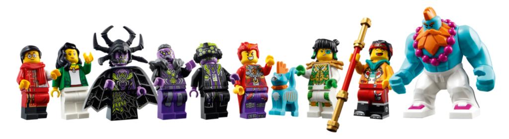 LEGO 80023 Monkie Kid Dronecopter Minifigures
