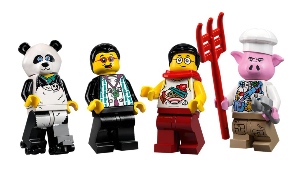 LEGO 80026 Pigsys Noodle Tank minifigures