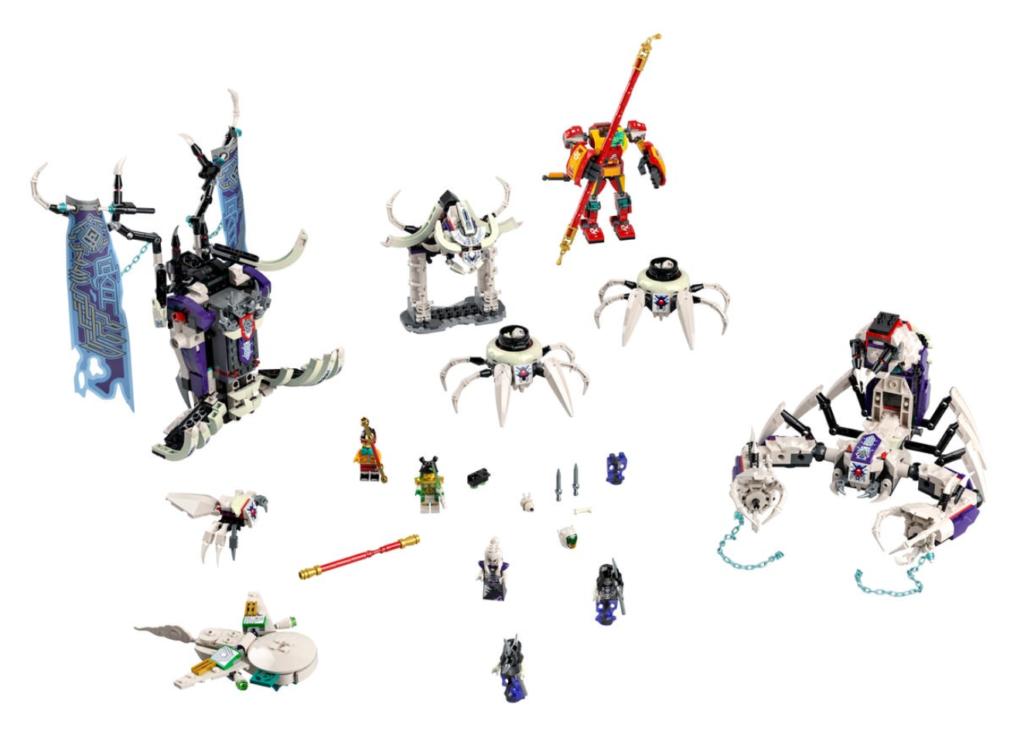 LEGO 80028 the Bone Demon contents