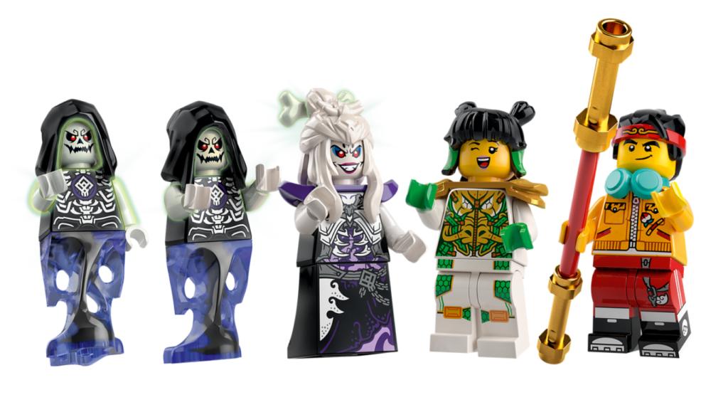 LEGO 80028 the Bone Demon minifigures