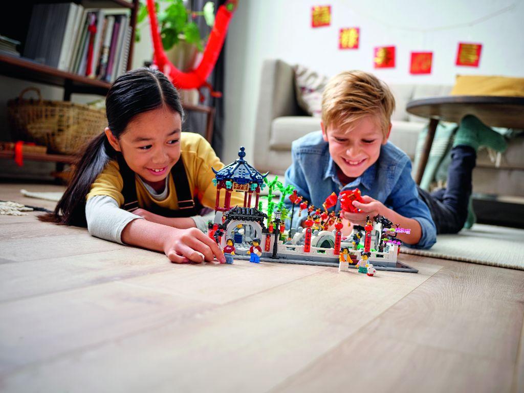 LEGO 80107 Spring Lantern Festival 15