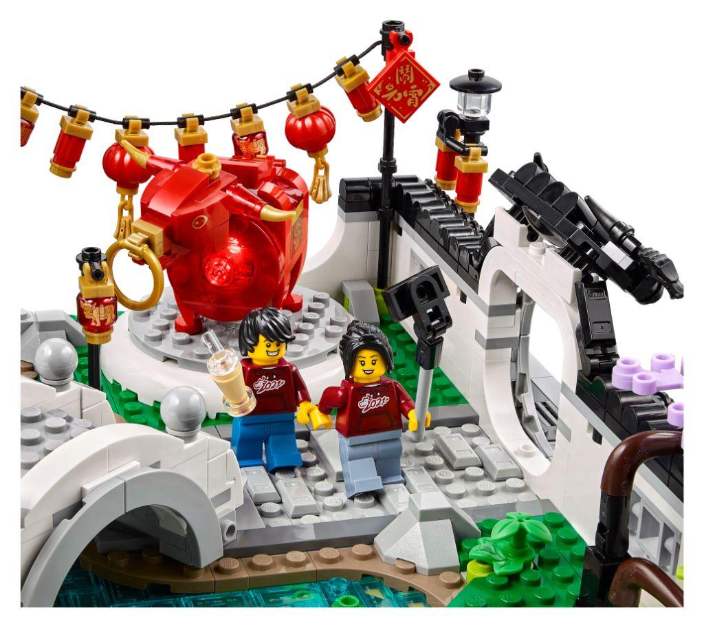 LEGO 80107 Spring Lantern Festival 8