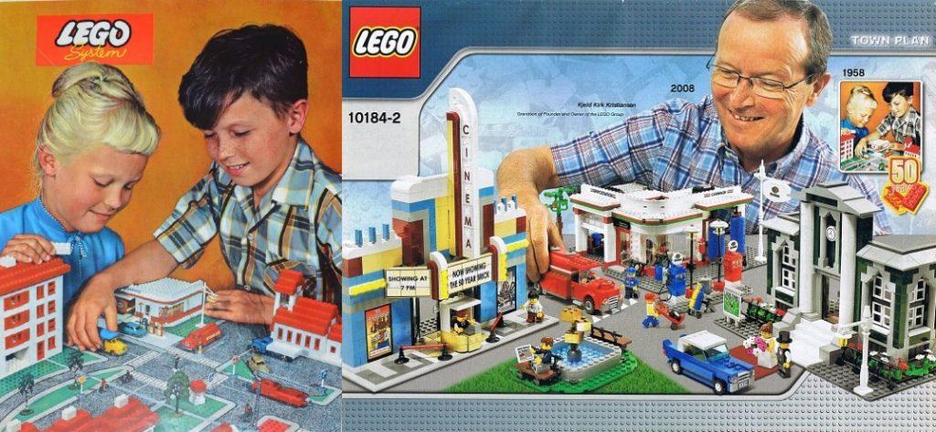 LEGO 810 10184 Pianta della città