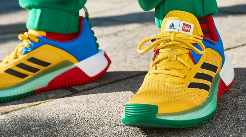 First look at upcoming LEGO Adidas shoes, shirts and tracksuits
