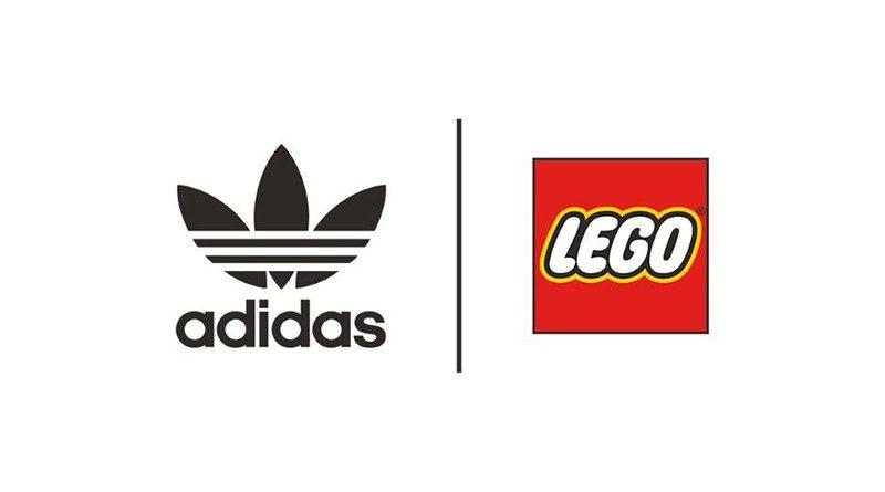 LEGO Adidas logo featured