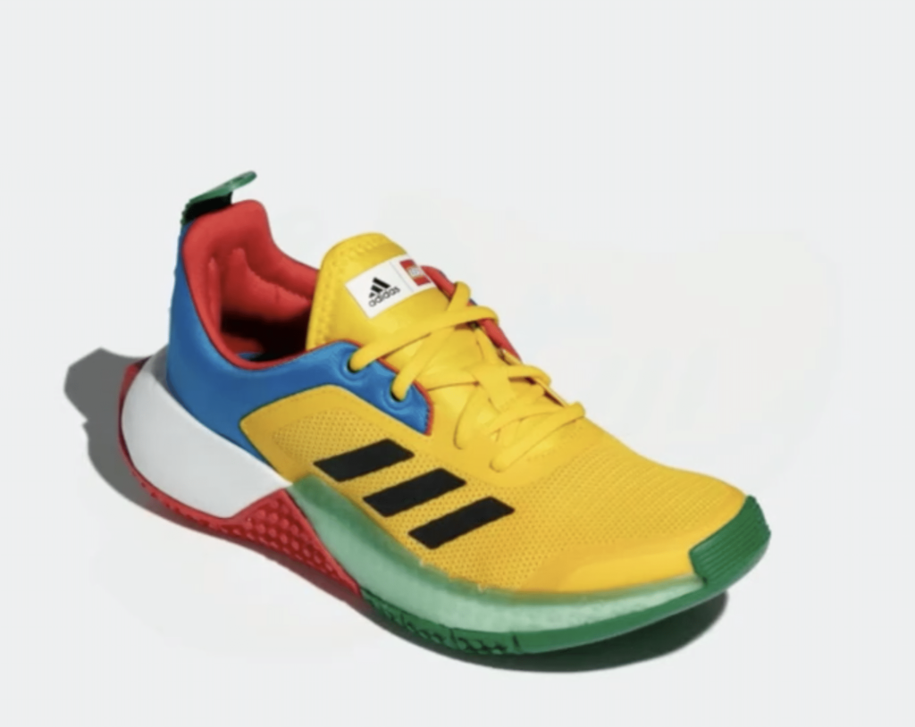 LEGO Adidas Old Running Shoes