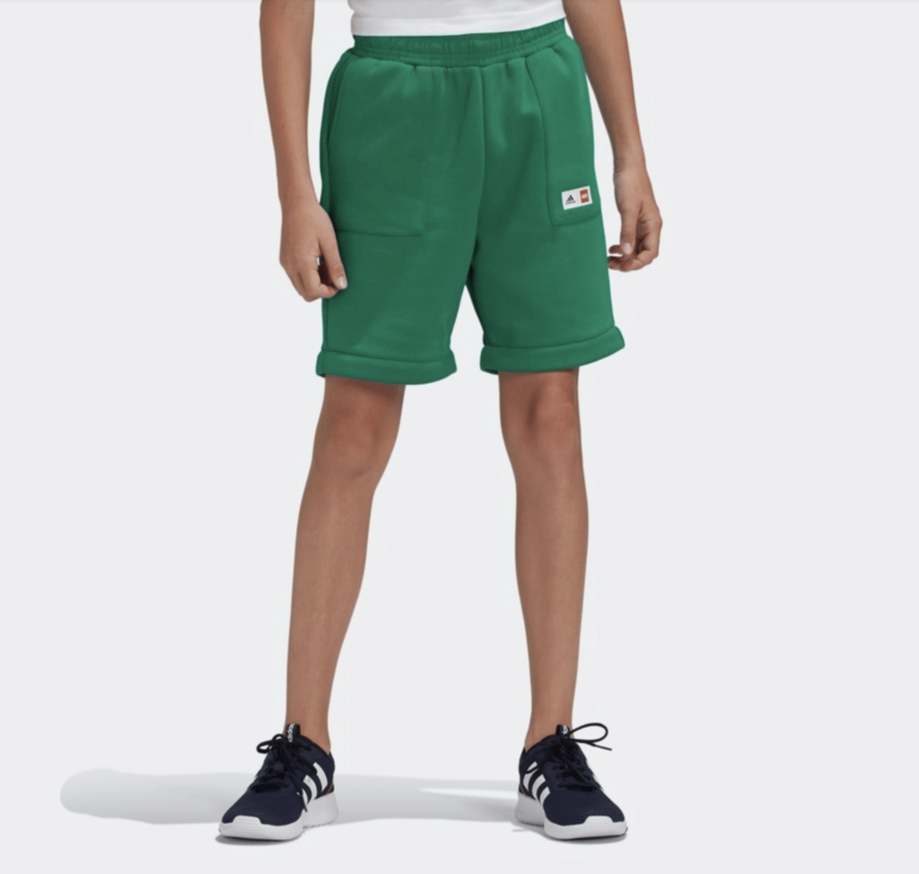 LEGO Adidas sweatpant shorts