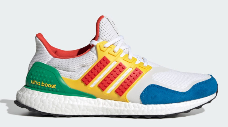 LEGO Adidas ultraboost colours original design featured