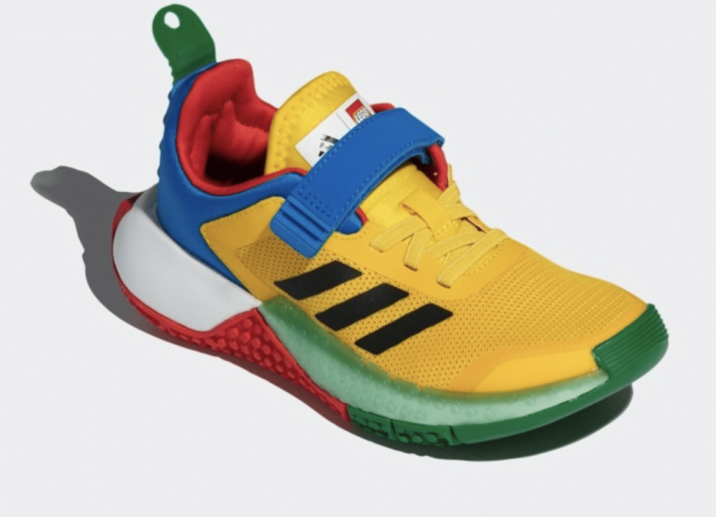 LEGO Adidas young running shoes