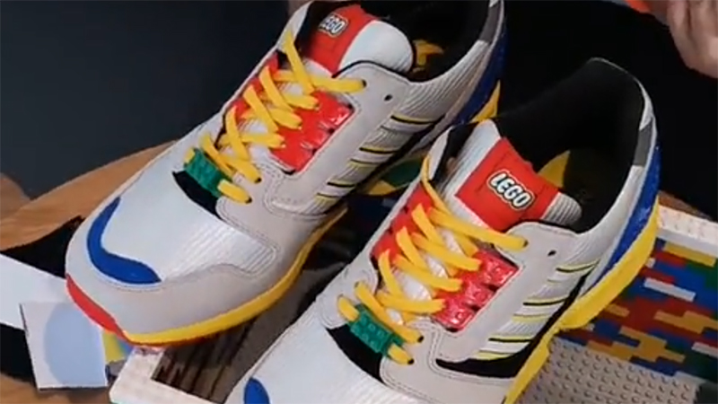 LEGO Adidias Trainers Featured