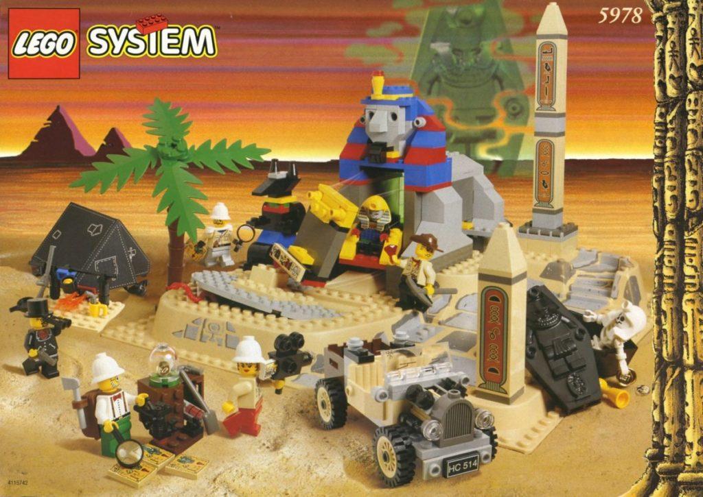 LEGO Adventurers 5978 Sphinx Secret Surprise