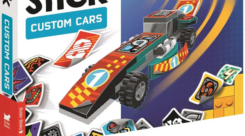 LEGO Ameet Build and stick custom cars book featured
