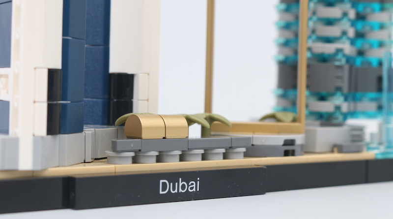 LEGO Architecture 21052 Dubai Review Title