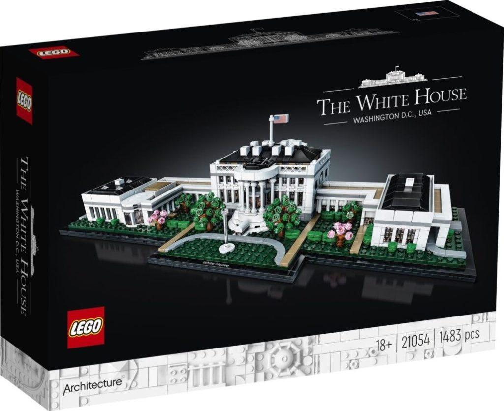 LEGO Architecture 21054 The White House 16