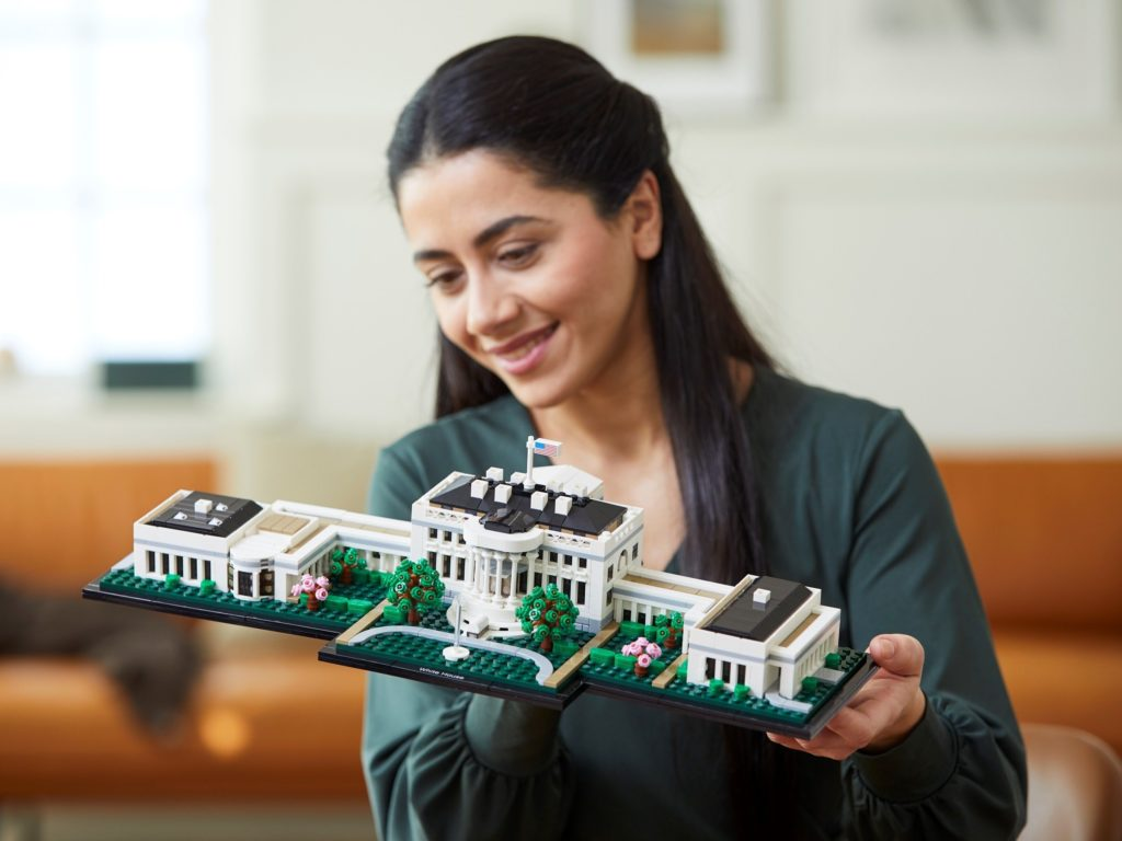 LEGO Architecture 21054 The White House 2