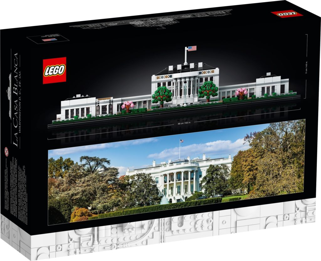 LEGO Architecture 21054 The White House 9