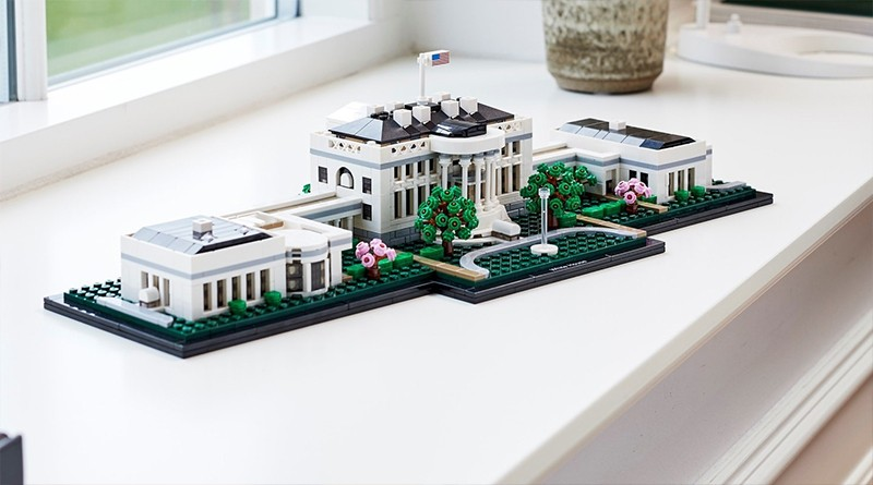 LEGO Architecture 21054 The White House Featured