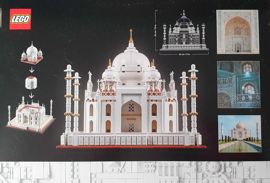 LEGO Architecture 21056 Taj Mahal Box